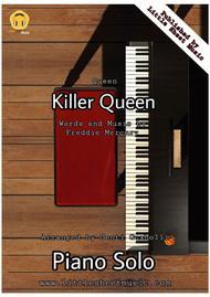 Download Killer Queen (Piano Solo) Sheet Music By Queen