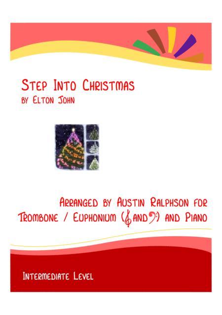 Step Into Christmas - trombone or euphonium and piano (intermediate level)