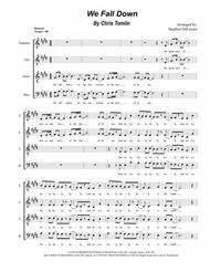 We Fall Down (for SATB)