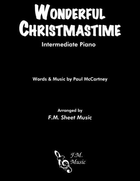Wonderful Christmastime (Intermediate Piano)