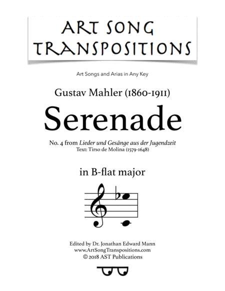 Serenade (B-flat major)