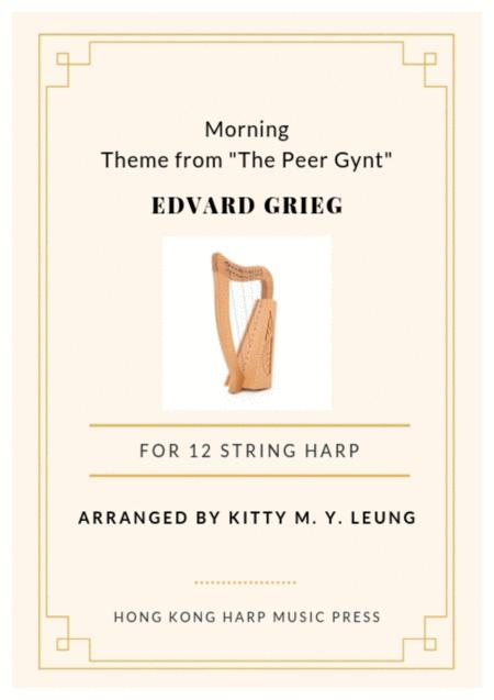 Morning (from the Peer Gynt) by Grieg - 12 String Small Lap Harp