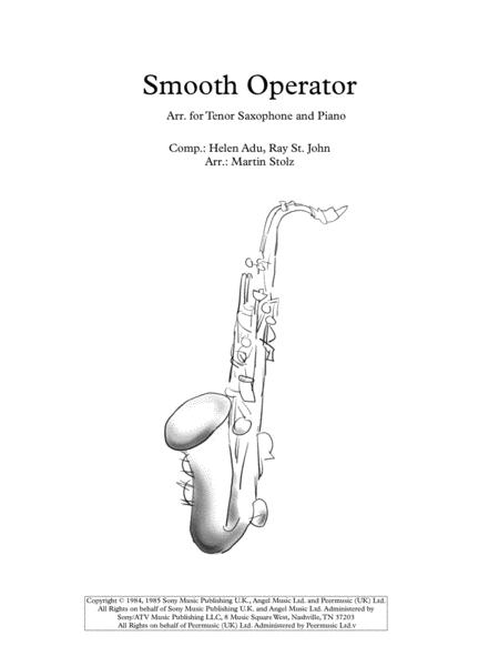 Smooth Operator for tenor saxophone and piano