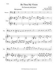 Be Thou My Vision (bassoon/piano), arr. Brenda Portman