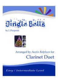 Jingle Bells - clarinet duet (easy / intermediate level)