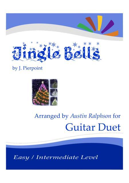 Jingle Bells - guitar duet (easy / intermediate level)