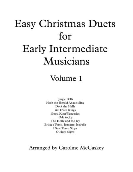 Easy Christmas Duets for Early Intermediate Viola and Cello Duet Volume 1