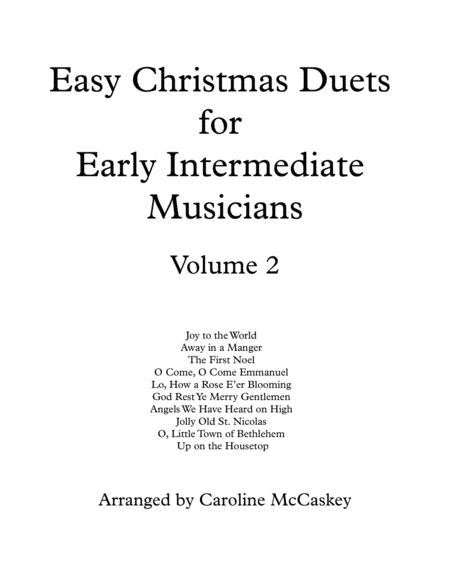 Easy Christmas Duets for Early Intermediate Viola and Cello Duet Volume 2