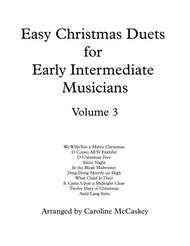 Easy Christmas Duets for Early Intermediate Viola and Cello Duet Volume 3