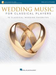 Wedding Music for Classical Players - Cello and Piano