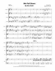 We Fall Down (for String Quartet and Piano)