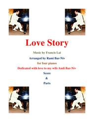 Love Story for 4 pianos by Rami Bar-Niv