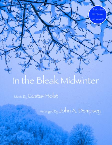 In the Bleak Midwinter (Quartet for Flute, Oboe, Clarinet and Horn in F)