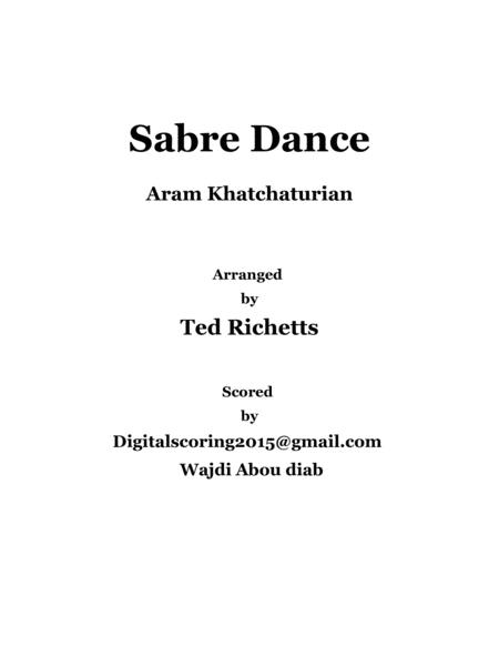 Sabre dance - strings orchestra