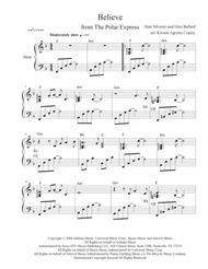 Believe from The Polar Express (Solo Harp Arrangement)