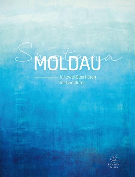 Die Moldau fur zwei Querfloten