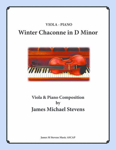 Winter Chaconne in D Minor - Viola & Piano