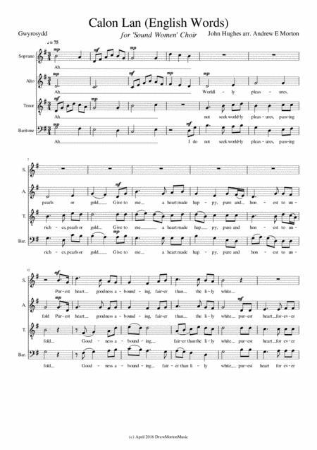 Download Calon Lan (English Words) Sheet Music By Andrew