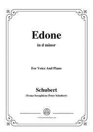 Schubert-Edone,D.445,in d minor,for Voice and Piano