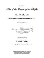 Air of the Queen of the Night for trumpet Bb & piano