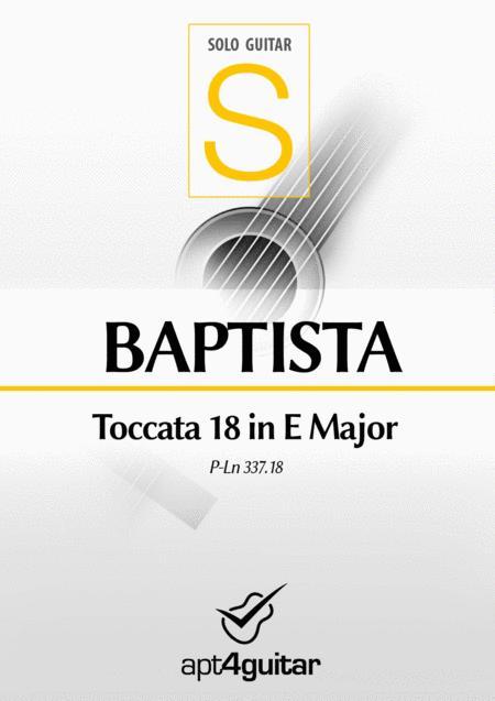 Toccata 18 in E Major