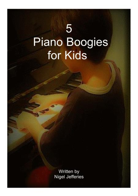 5 Piano Boogies for Kids