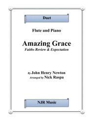 Amazing Grace - Flute & Piano (intermediate)