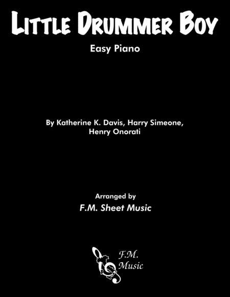 Little Drummer Boy (Easy Piano)