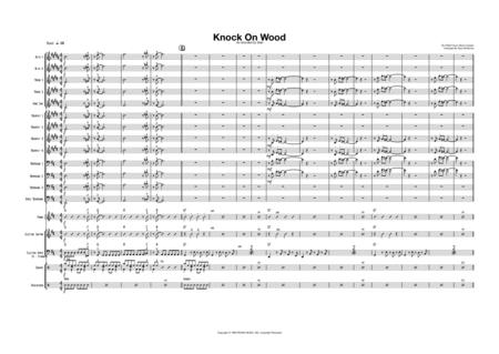 Knock On Wood - Male Vocal with Big Band Key of D