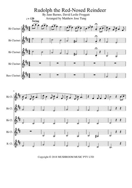 Rudolph The Red Nosed Reindeer (inst) (trad Arr.)