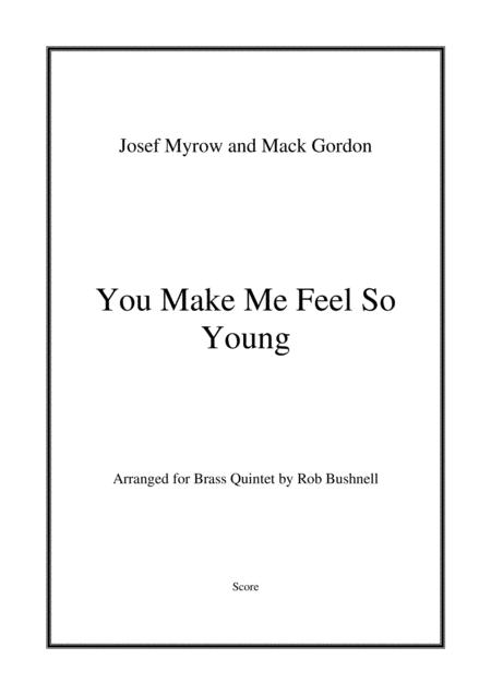 You Make Me Feel So Young (Frank Sinatra) - Brass Quintet