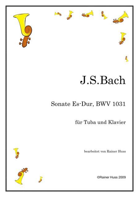 J.S.Bach, Sonata in Eb, BWV 1031
