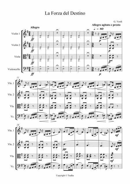 G. Verdi - La Forza del Destino (Ouverture)