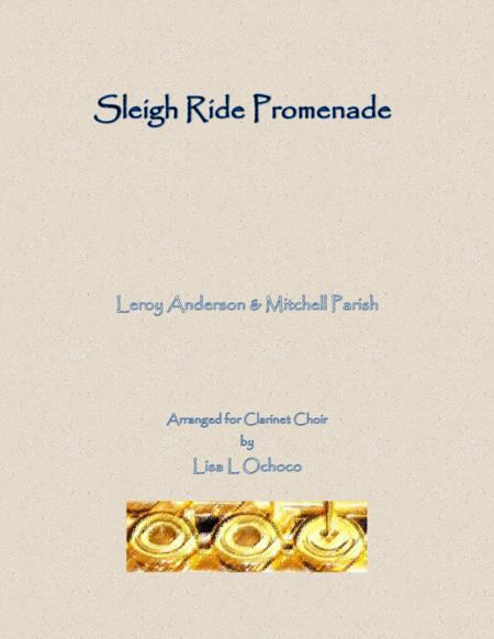 Sleigh Ride for Clarinet Choir