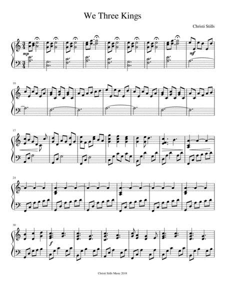 We Three Kings (Piano Solo)