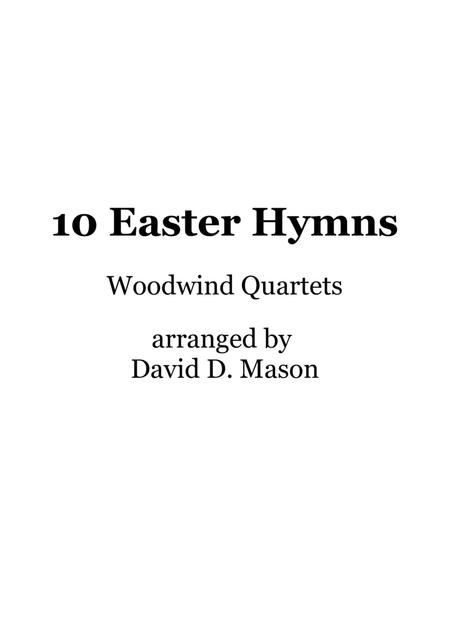 10 Easter Hymns for Woodwind Quartet