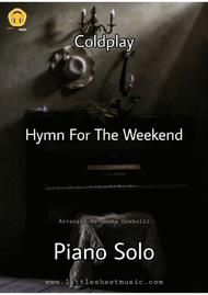 Hymn For The Weekend (Piano Solo)