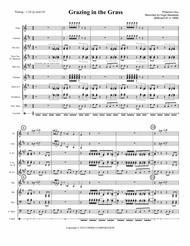 GRAZING IN THE GRASS (Hugh Masekela, 1968) - for pep band, basketball band, jazz combo, small jazz ensemble