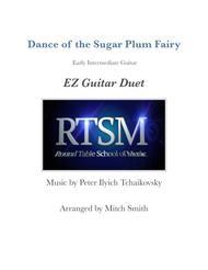 Dance of the Sugar Plum Fairy from the Nutcracker for EZ guitar duet