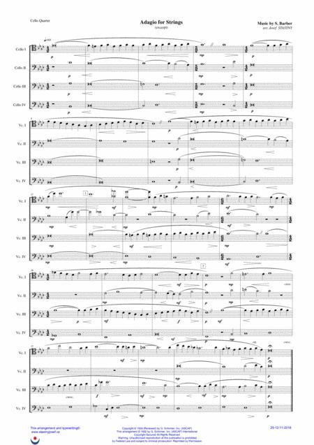 Adagio For Strings