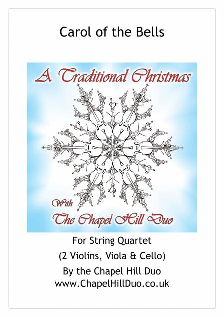 Carol of the Bells for String Quartet - Full Length arrangement by the Chapel Hill Duo