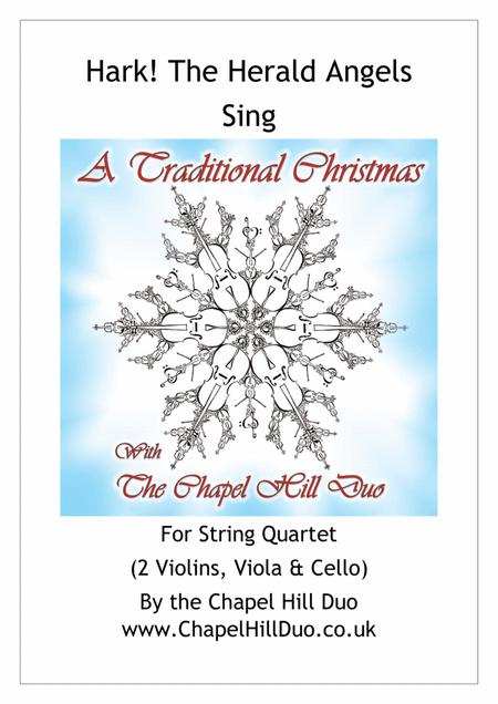 Hark! The Herald Angels Sing for String Quartet - Full Length Arrangement by the Chapel Hill Duo