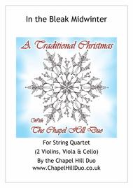 In the Bleak Midwinter for String Quartet - Full Length arrangement by the Chapel Hill Duo