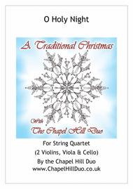 O Holy Night for String Quartet - Full Length arrangement by the Chapel Hill Duo