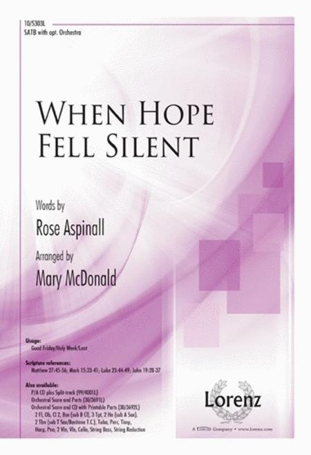 When Hope Fell Silent