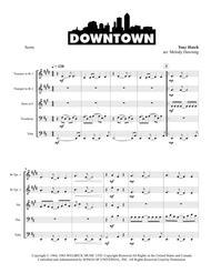Downtown for Brass Quintet
