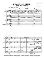 Glasgow Love Theme from LOVE ACTUALLY - String Trio (vln/vla/vc)