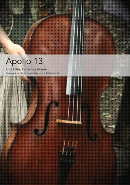 Apollo 13 for string quartet