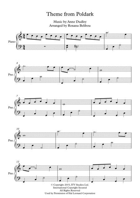 Theme From Poldark Piano