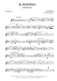 Il Postino (The Postman) for Clarinet Quartet